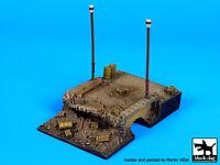 Black Dog 1:72 Destroyed Bridge (80x125 Mm) Diorama Resin Base D72012 on sale