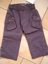(342) Imps & Elfs unisex Baby Cargo Hose asymetrische Taschen unterfüttert gr.92