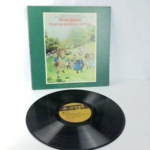 Peter Rabbit Tales of Beatrix Potter Vinyl Record Royal Ballet Film Soundtrack