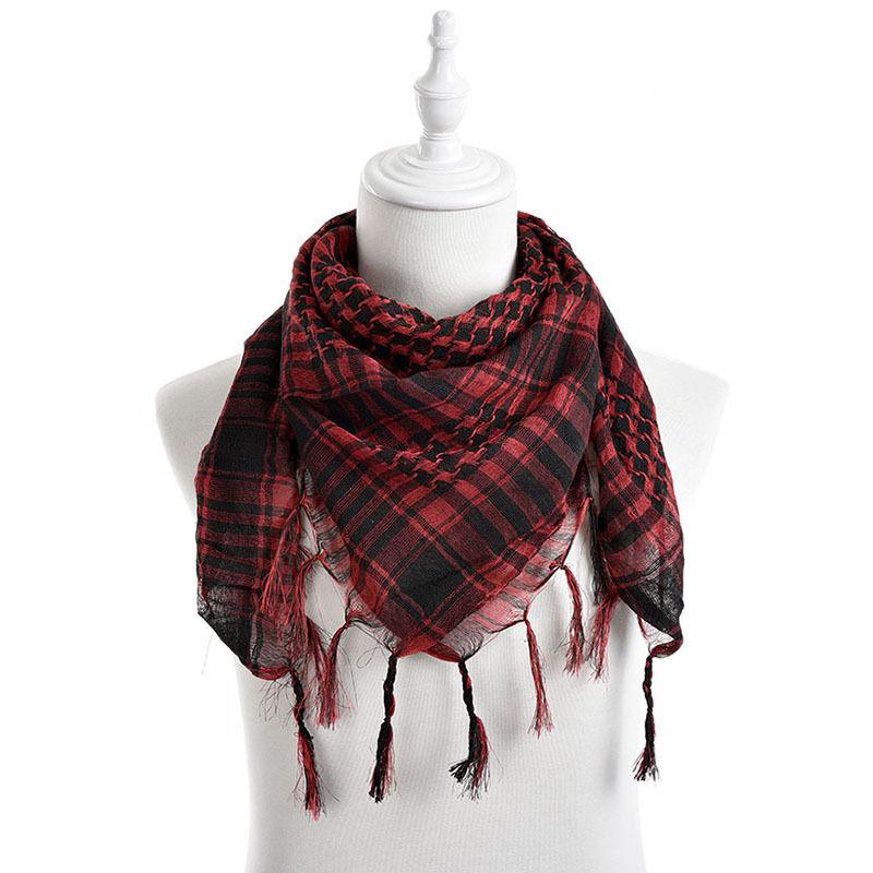 army tactical unisex arab shemagh keffiyeh shawl