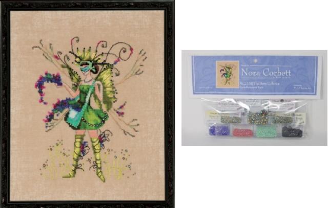Nora Corbett Mirabilia Cross Stitch PATTERN /& EMBELLISH Pk Miss Beetle NC259