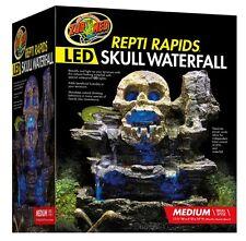 Zoo Med Repti Rapids LED Waterfall  Medium Skull