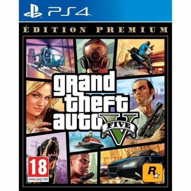 GTA V Edition Premium * Grand Theft Auto 5 - PS4 neuf sous blister VF