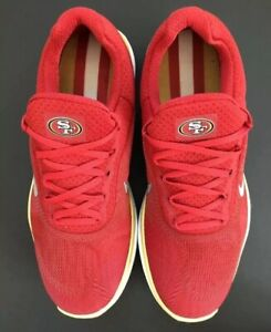 fde67e40a Nike Free Trainer V7 San FRANCISCO 49 ers Running Shoes Sz.15 NEW ...
