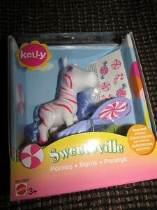 Sweetsville Kelly Little Pony Barbie Scented Peppermint Ponies My RARE NIB