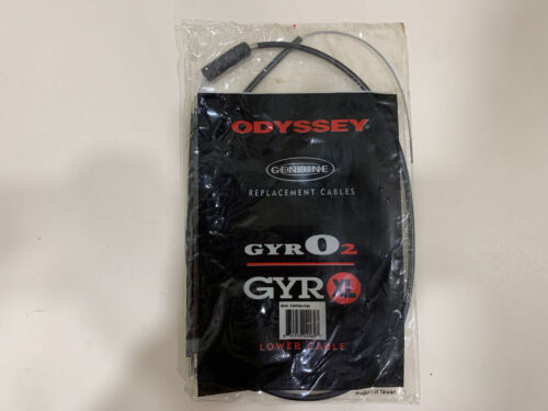 Odyssey Gyro 2 XL Lower Black Brake Cable NEW IN PACKAGING