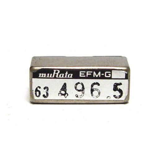 Murata Quarz-Filter / Stimmgabel-Resonator, EFM-G 496.5 Hz Tuning Fork, NOS
