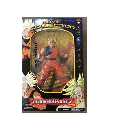 Dragonball Z Movie Collection 9 Inch Battle Damaged SS Son Goku (japan import)