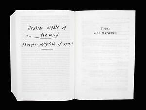 Marcel Proust 'À la recherche du temps perdu' Samuel Beckett Facsimile