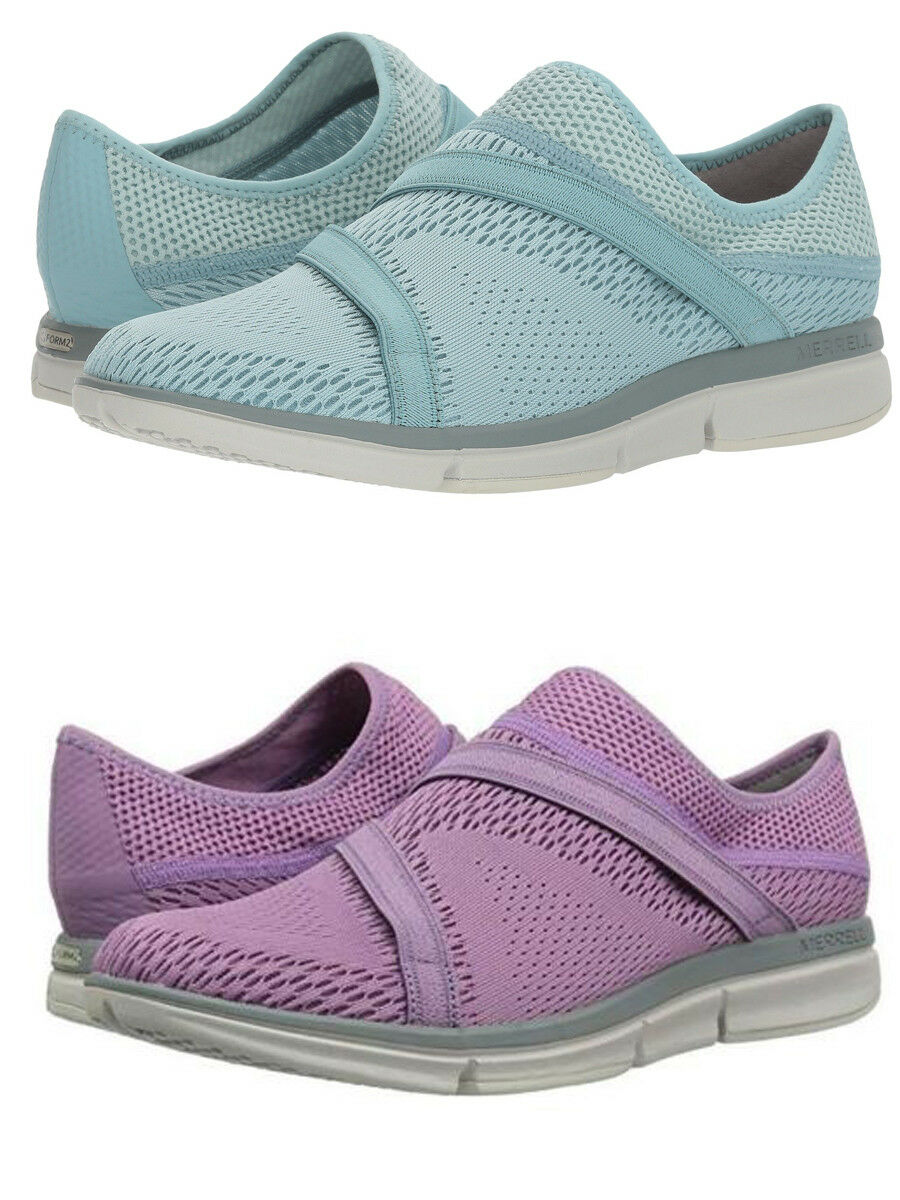 Merrell Para Mujer Zoe pasados E-Malla E-Malla E-Malla Q2 Casual Comfort Slip On Senderismo Trail Zapatos  estar en gran demanda