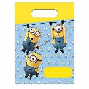 Despicable Me Minions Party Favor Kit 48 pc Boys /& Girls 3 yrs New