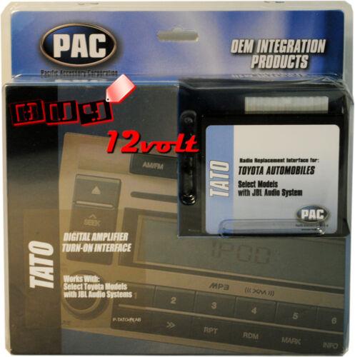 Pac Tato Jbl Amplificateur Turn-On Interface pour sélectionner Toyota /& Lexus 2003-Up