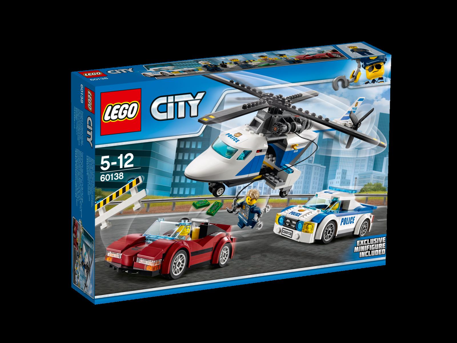 LEGO® City 60138 Rasante Verfolgungsjagd NEU OVP_ High-speed Chase NEW MISB NRFB