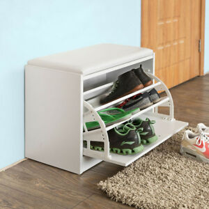Image Is Loading So Hallway Shoe Storage Bench Cabinet With