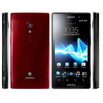 New Original Unlocked Sony Xperia ion LT28H 16GB Android Smartphone 12MP Red