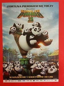 Jennifer Yuh Alessandro Carloni - Kung Fu Panda 3 - Polish promo FLYER - Gdynia, Polska - Jennifer Yuh Alessandro Carloni - Kung Fu Panda 3 - Polish promo FLYER - Gdynia, Polska