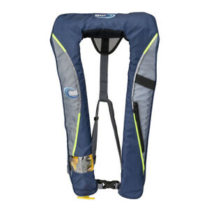 MTI Helios 2.0 Manual Inflatable Life Vest - Blue/Grey  MD400H-809