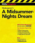 A Midsummer Night's Dream: Complete Study Edition by William Shakespeare (Paperback, 2001)
