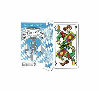 Lovely Schafkopf Tarock Spielkarten Schafkopfkarten In Faltschachtel To Reduce Body Weight And Prolong Life Toys & Hobbies