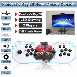 1388-IN-1-RETRO-PANDORA-039-S-BOX-6S-ARCADE-CONSOLE-GUEGOS-2-PLAYER-STICK-VIDEO-GAME