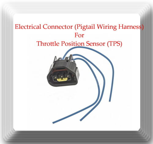 Throttle Position Sensor TPS Chevrolet Pontiac Scion Toyota W//Connector Fits