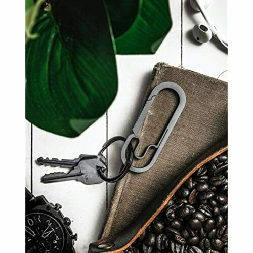 The Baxter Titanium Carabiner Keychain Ultralight Everyday Carry Anti-Lost MTH