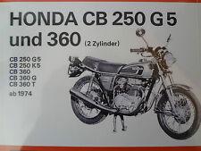 Manuale riparazione, Libro, Honda CB 250 G, CB 360, Stampa esclusiva, Volume 531