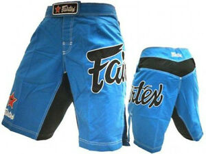 NEW-Fairtex-All-Sport-Boardshorts-Blue-MMA-BJJ-UFC-Jiu-Jitsu-Nogi-Sz-34