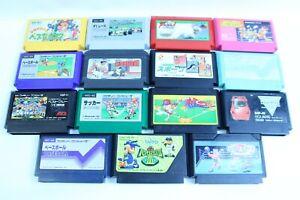 Nintendo-Famicom-cartridges-Lot-of-15-retoro-games-nes-version-JAPAN-1