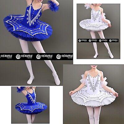 Marchio Popolare Vestito Tutù Saggio Danza Ragazza Donna Woman Ballet Tutu Dress Danc134