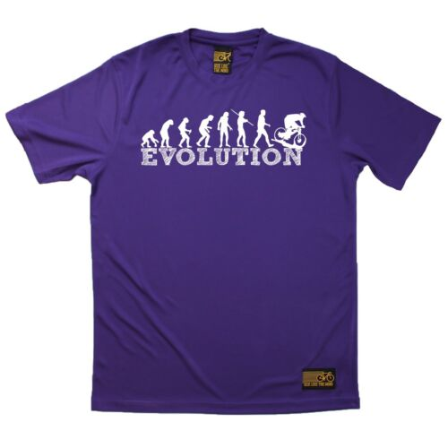 Breathable Sports T-SHIRT Cycling Birthday Gift Present Downhill Evolution