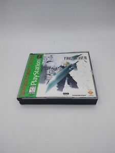 Final Fantasy VII 7 Greatest Hits Sony Playstation 1 FF7 PS1 3 Disc Set COMPLETE