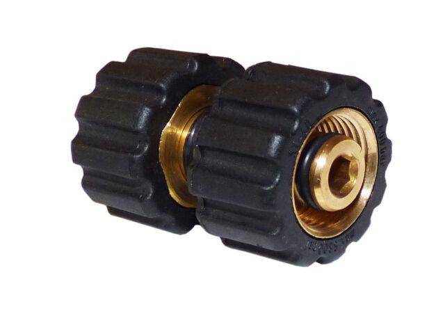 Verschraubung M22IG M22 IG Kärcher HD HDS Kränzle Hochdruckreiniger Zweifach