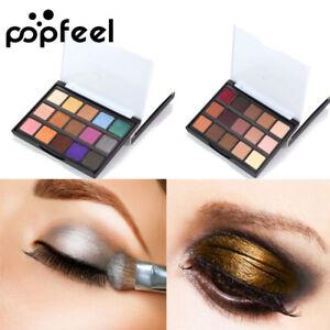 15-Farbe-EyeShadow-Make-up-Kosmetik-Schimmer-Lidschatten-Pigment-Matte-Palette