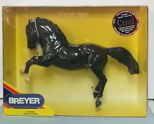 Breyer-1163-Coal-Glossy-Black-Fighting-Stallion-Model-Horse-NIB-NICE