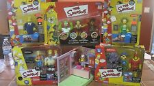 The Simpsons World Of Springfield Interactive Figures Lot Playmates Toys