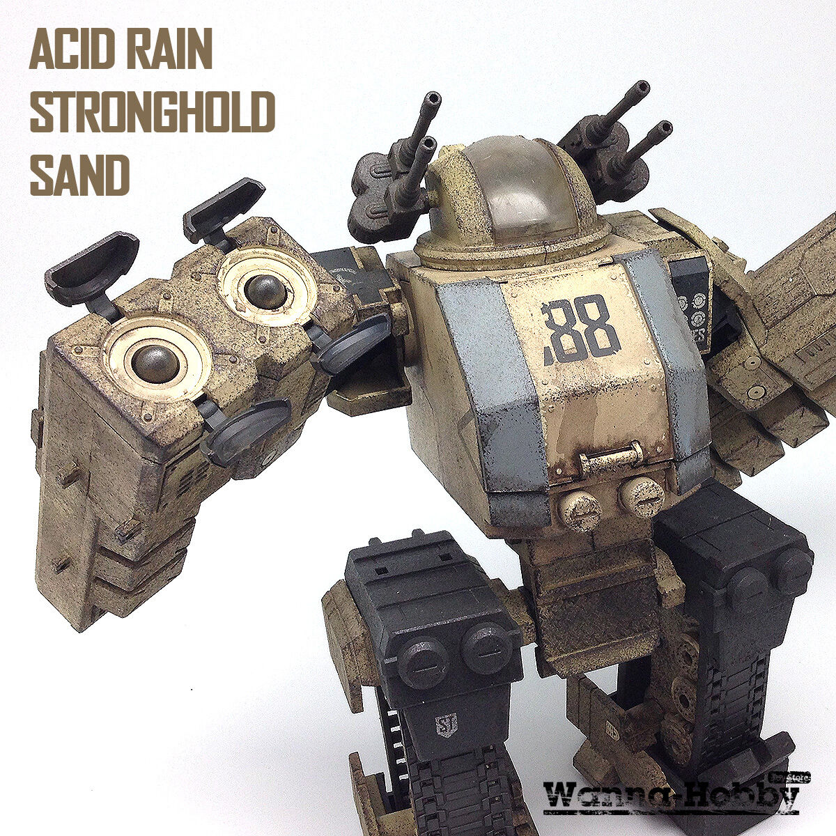 OriToy Acid Acid Acid Rain Sand Stronghold Transforming Mecha Action Vehicle NEW a83d27
