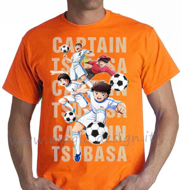 tshirt HOLLY E BENJI DUE FUORICLASSE Capitan Tsubasa CARTOON T-SHIRT tg fino 5XL