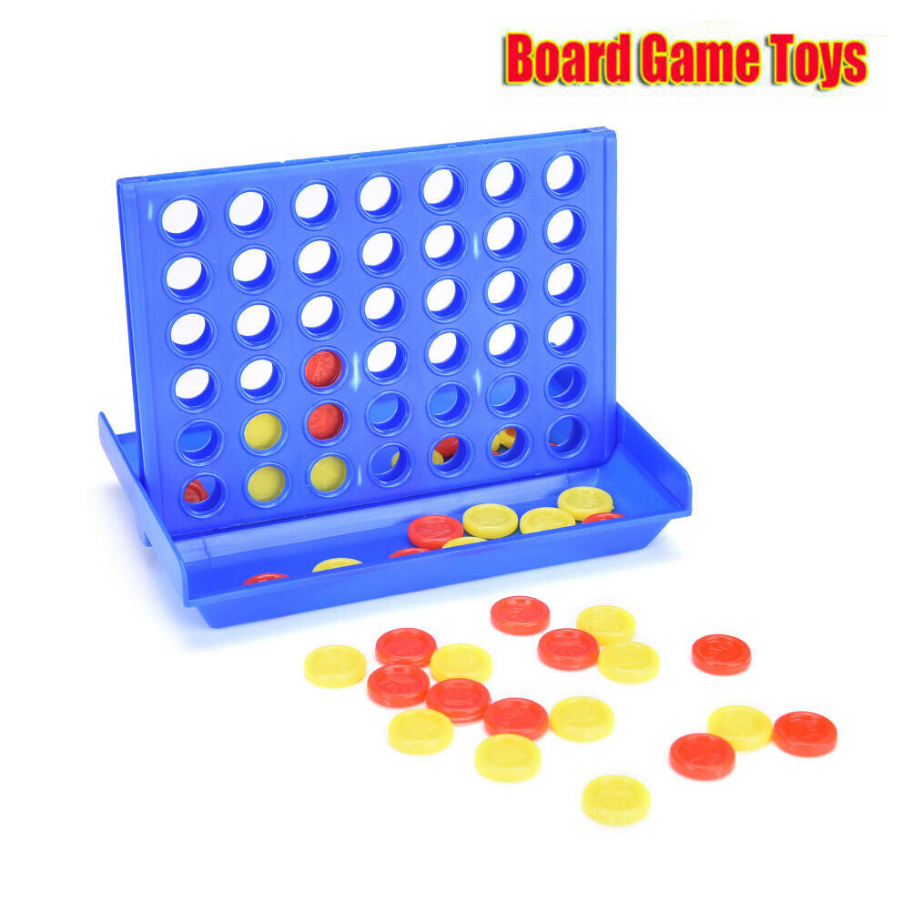 Connect 4 In A Row 4 In A Line Board Game Kid Children Fun Educational Toys Gift 1