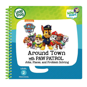 LeapFrog LeapStart 3D Around Town with Paw Patrol Activity Book NEW
