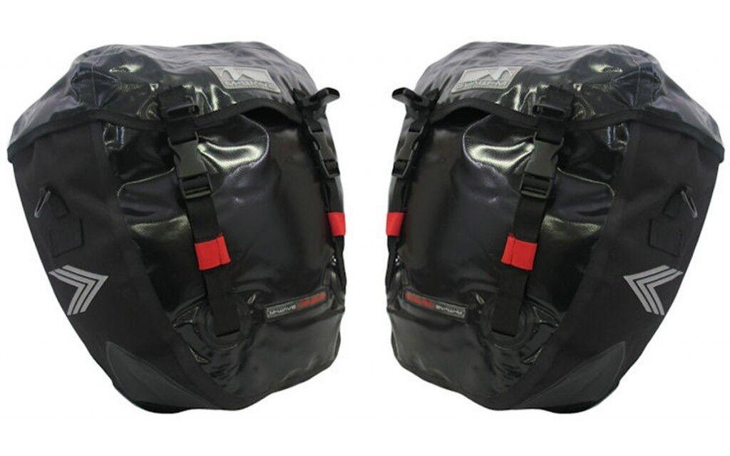 Pacchetto Doppio Borse Laterali M-WAVE Alberta Bici 20 Busta Litri