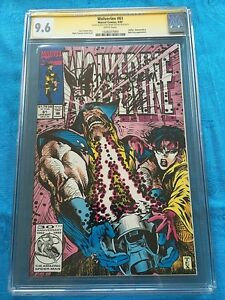 Wolverine-61-Marvel-CGC-SS-9-6-NM-Signed-Sketch-by-Mark-Texeira