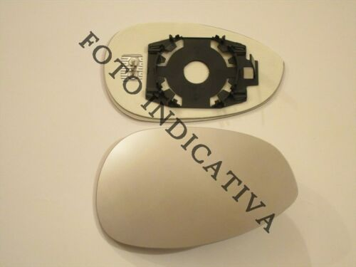 piastra vetro specchio LANCIA PHEDRA 2002-2009 retrovisore DX termico cromato