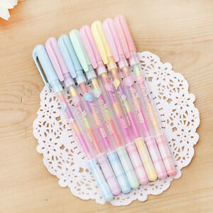 6-Pcs-lot-6-Colors-in-1-Candy-Colors-Gel-Pens-Ink-Chalk-Pen-Office-Student-Gifts