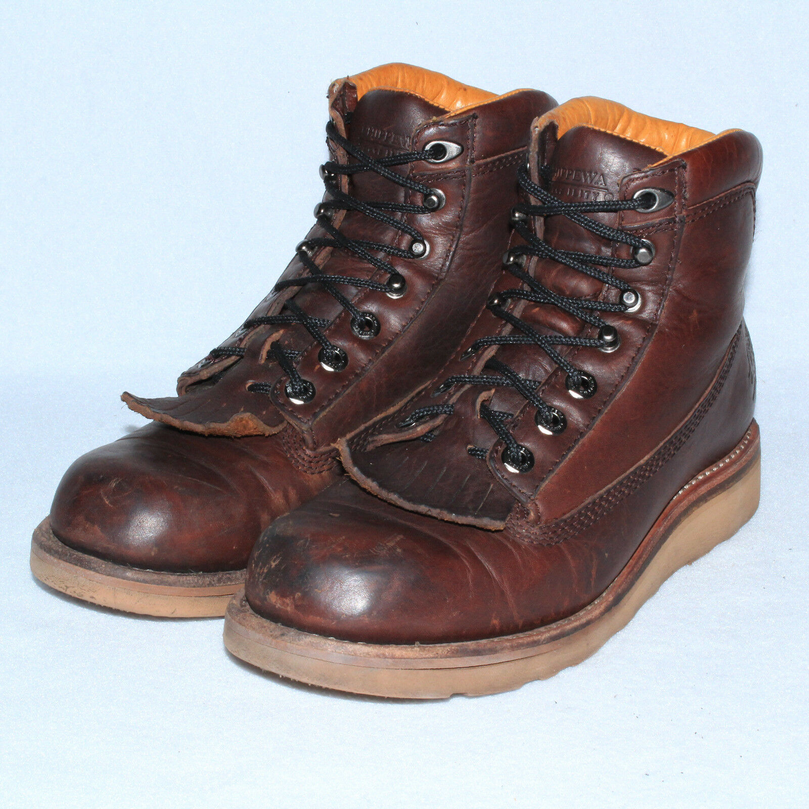GORGEOUS VTG CHIPPEWA MENS 6