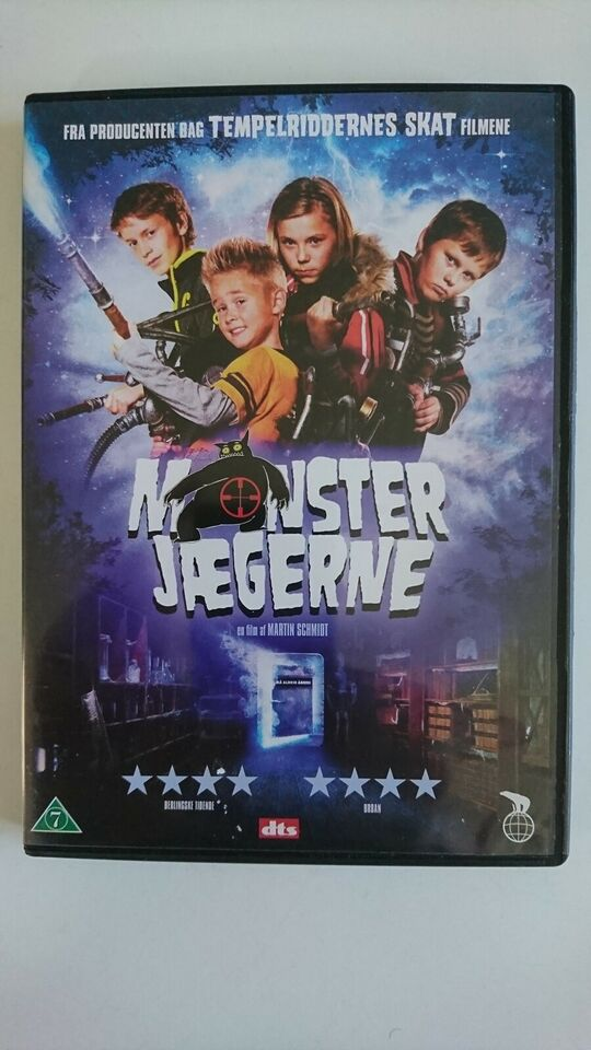 Monsterjægerne, instruktør Martin Schmidt, DVD