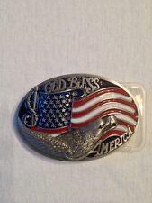 Boucle de ceinture USA / Drapeau / Sudiste / Etats Unis / Ceinturon