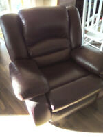 Leather Rocker Recliner Buy New Used Goods Near You Find Everything From Furniture To Baby Items In Ontario Kijiji Classifieds