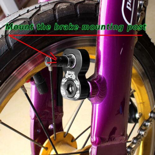 Mountain Bike Brake Converter V Brake Rack Holder Frame Brake Adapter Black