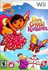 Dora the Explorer: Dora Saves the Crystal Kingdom -- Nintendo Wii Game -- GREAT